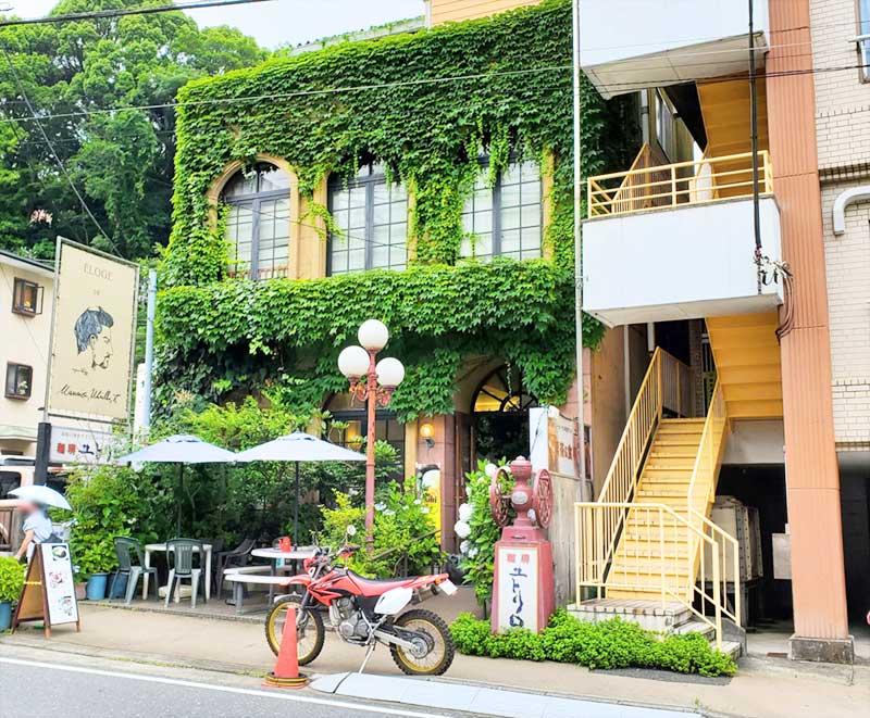 箱根湯本の喫茶ユトリロ