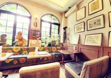 【箱根湯本・画廊喫茶ユトリロ】アートと箱根湧水の水出しコーヒーを両方味わえる