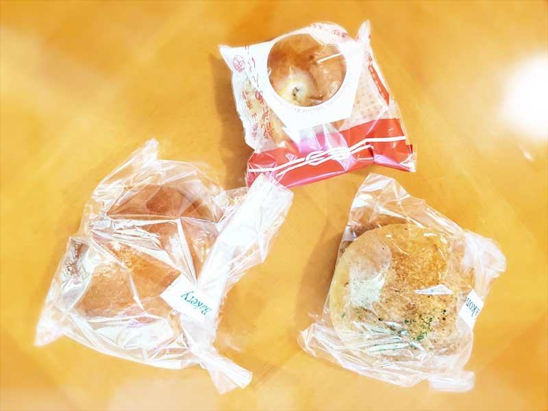 箱根パン3種食べ比べ