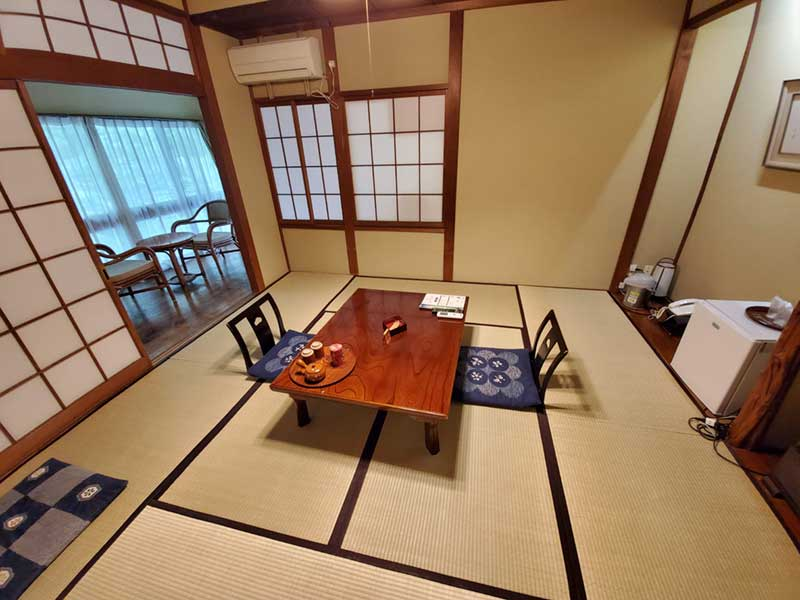 広めの和室のお部屋
