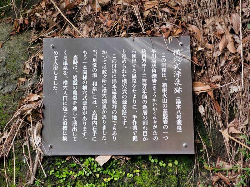 ここが湯本温泉発祥の地だそうです