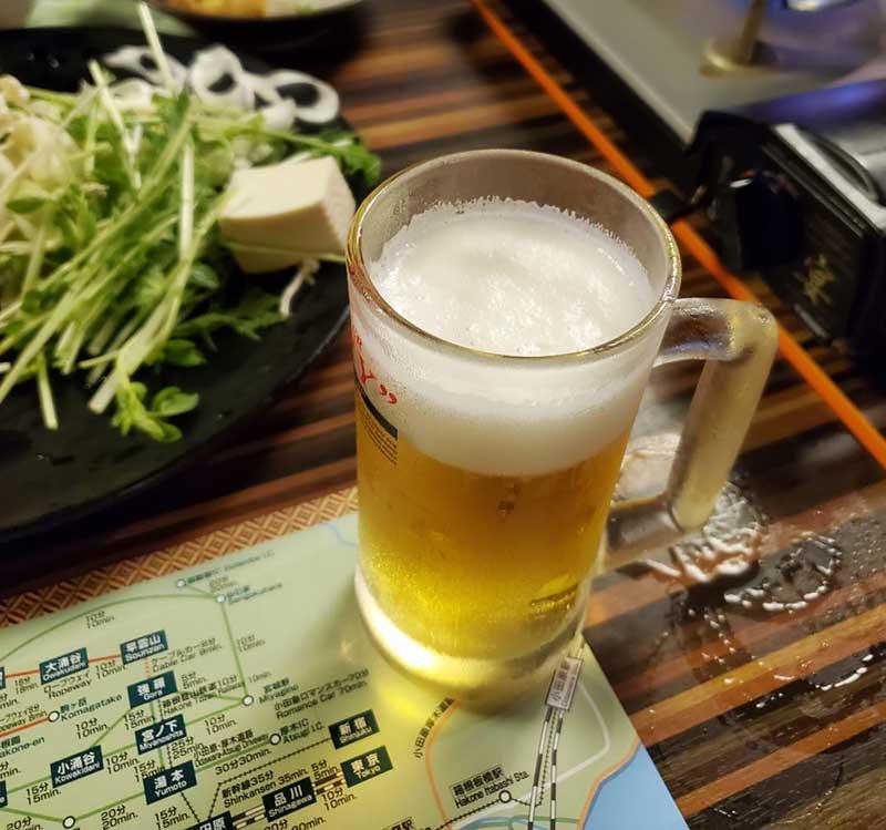何杯目かのおかわりビール